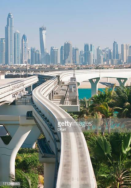 Road to future. Dubai
