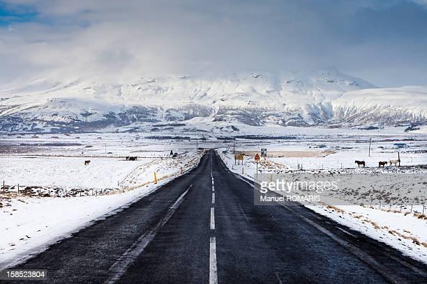 Road to Geysir