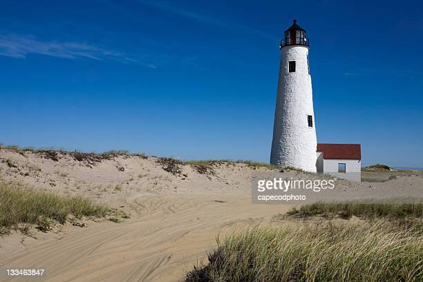 road to great point light - nantucket stock pictures, royalty-free photos & images