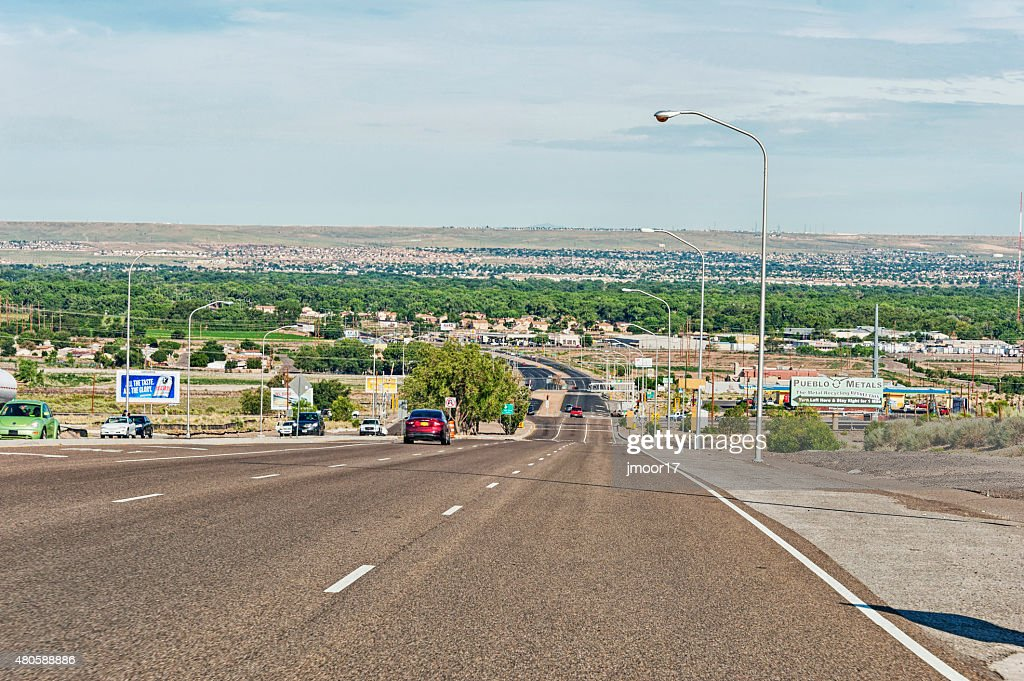 Road to Las Cruces New Mexico : Stock Photo