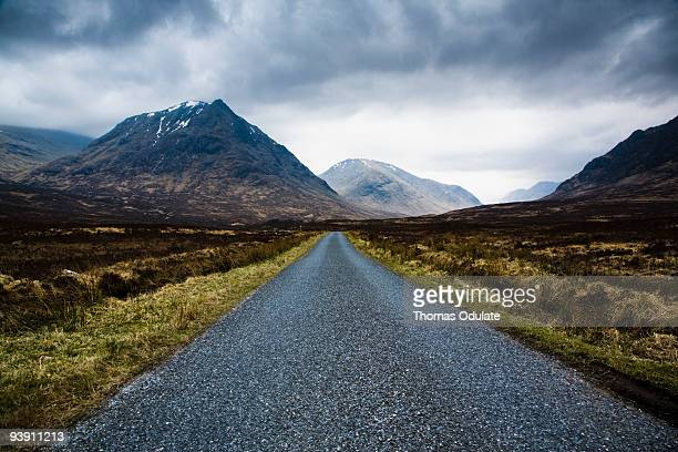 Road to Loch Etive