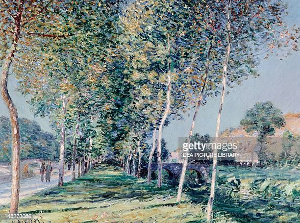 Road to Louveciennes by Alfred Sisley Nice Musée Des BeauxArts Jules Chéret