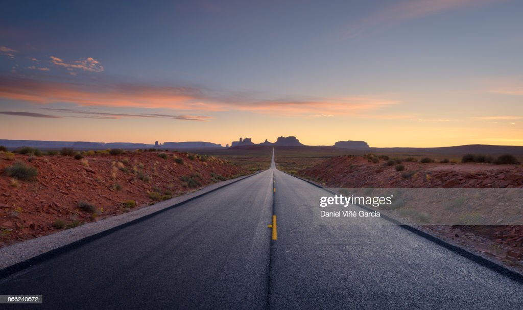 Road to Monument Valley Tribal Park : Stock-Foto