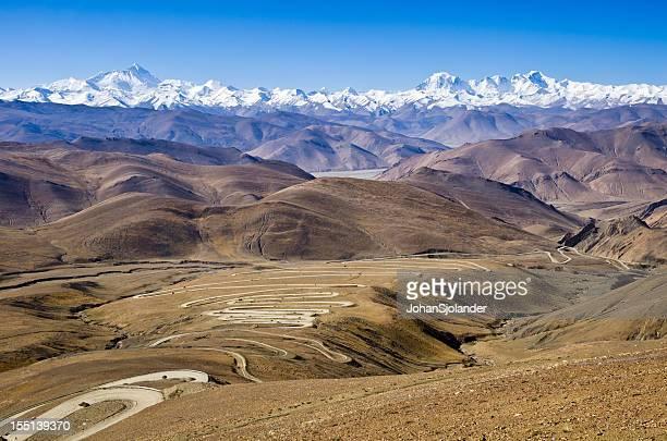 Road to Mount Everest, Tibet