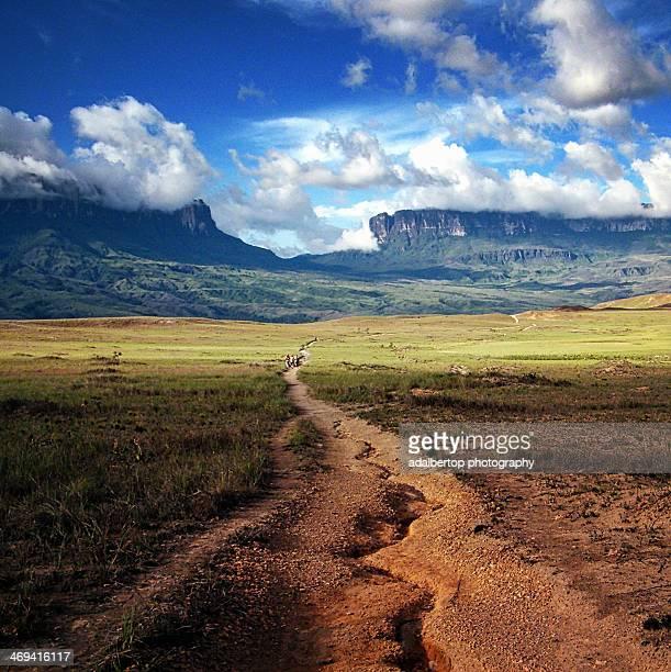 Road to Mount Roraima. Canaima. Venezuela