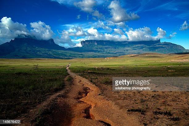Road to Mount Roraima