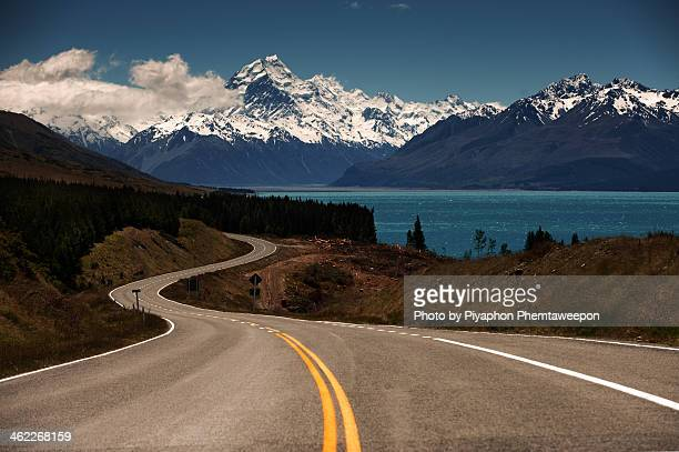 Road to Mt.Cook