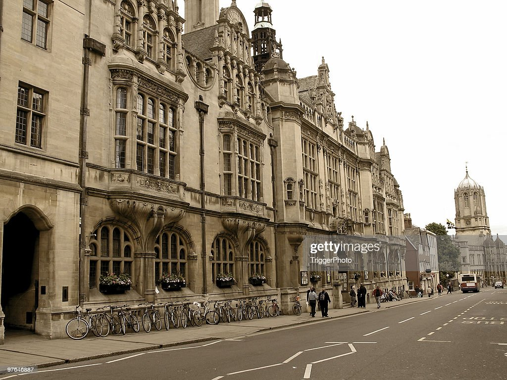Road to Oxford : Stock Photo