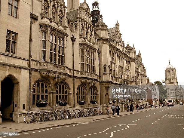 road to oxford - oxford england stock pictures, royalty-free photos & images