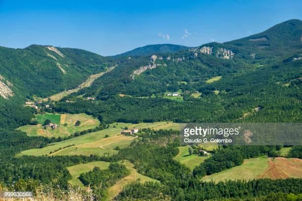 Road to Passo della Cisa, from Tuscany to Emilia