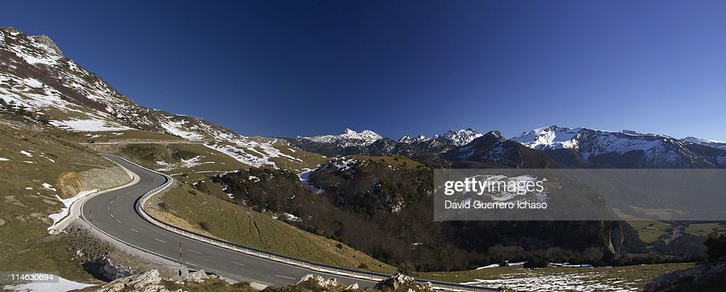 Road to Pyrenees : Stock Photo