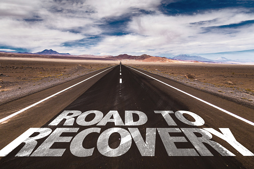 Road to Recovery sign 688318970