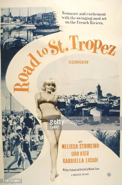 Road To Saint Tropez poster US poster Gabriella Licudi 1966