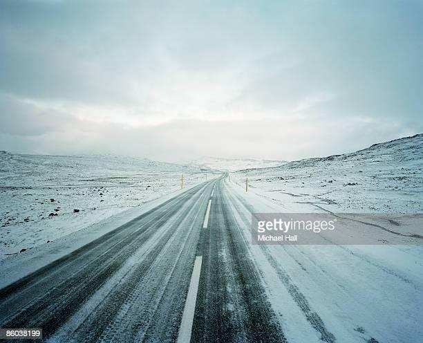 Road to Seydisfjordur, Iceland