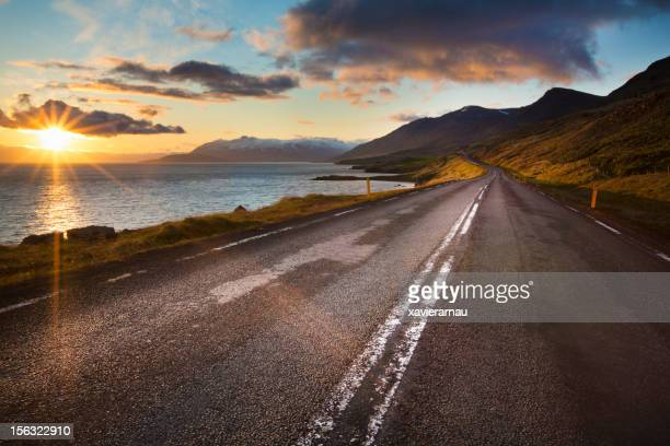 Road to the beauty Iceland