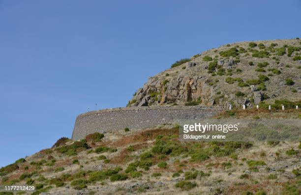 Road to the Pico do Arieiro, Madeira, Portugal, Strasse zum Pico do Arieiro.