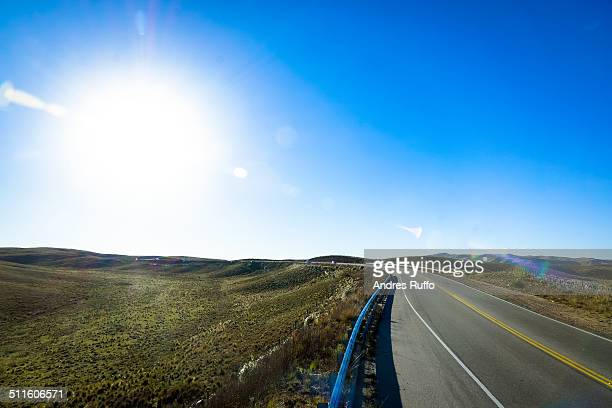 road to travel - andres ruffo stock pictures, royalty-free photos & images