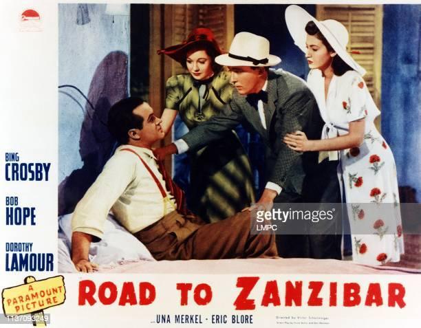 Bob Hope Una Merkel Bing Crosby Dorothy Lamour 1941