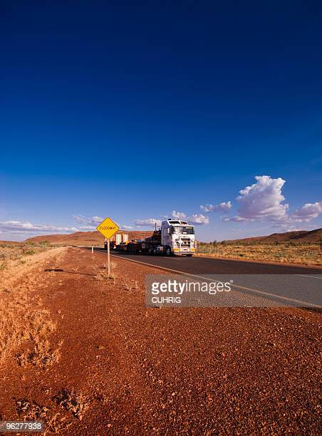 Road Train in Pilbara Western Australia