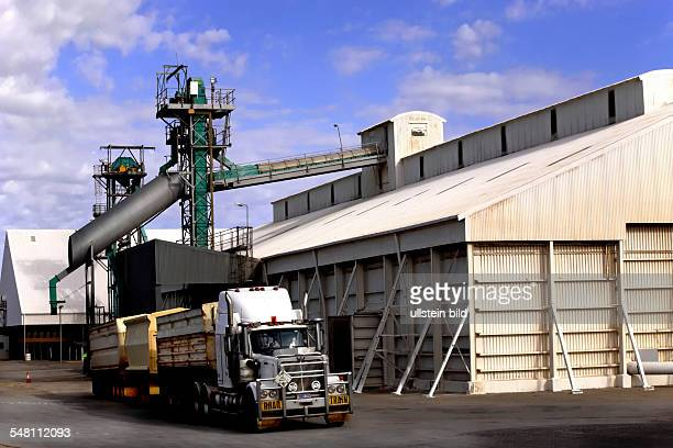 Road Train Truck at a Grain Terminal in Northhampton Western Australia