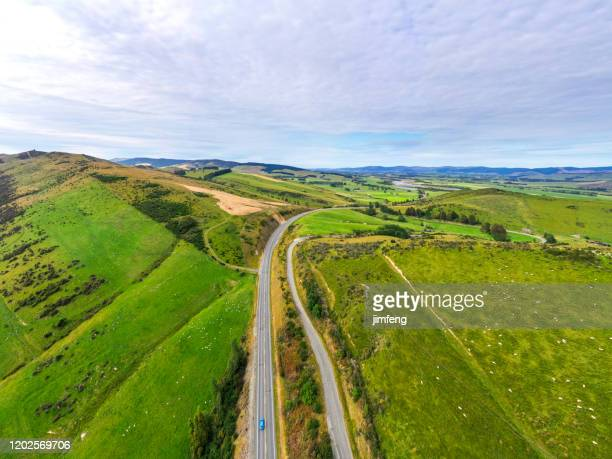 road trip in josephville, south island, new zealand - south island new zealand stock pictures, royalty-free photos & images