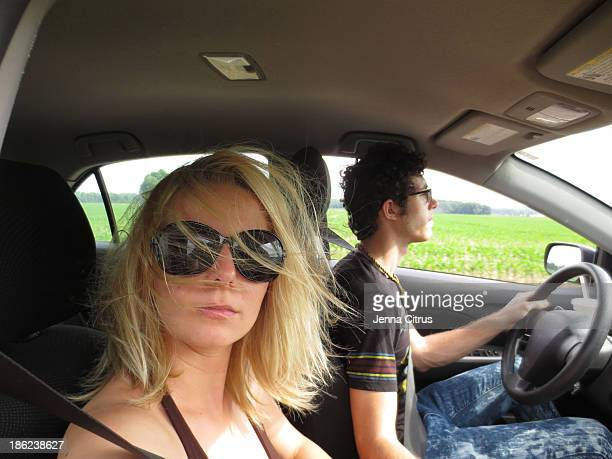 Road trip in the country