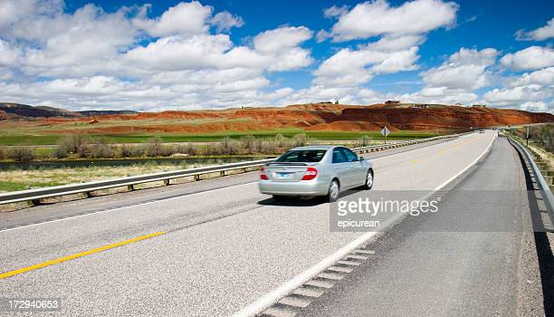 road trip - compact car stock photos and pictures