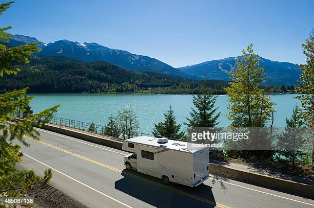 rv road trip - whistler british columbia stock pictures, royalty-free photos & images