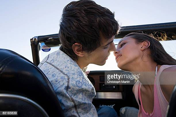 road trip - indian girl kissing stock photos and pictures