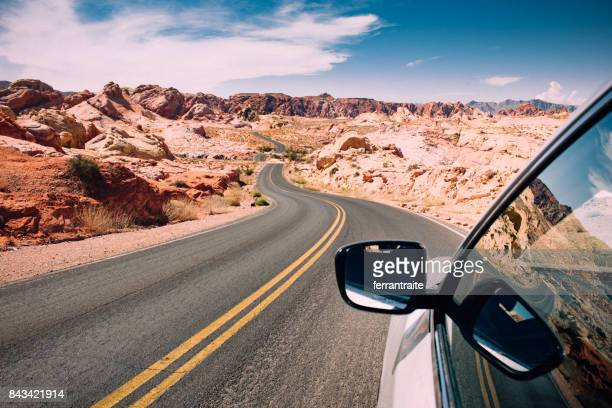 road trip - nevada stock pictures, royalty-free photos & images