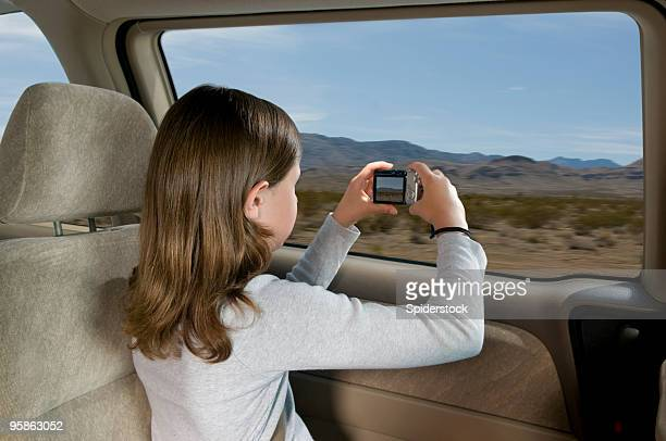 road trip - camera girls stock photos and pictures