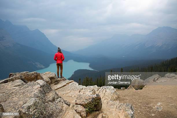 Road trip through Banff National Park.
