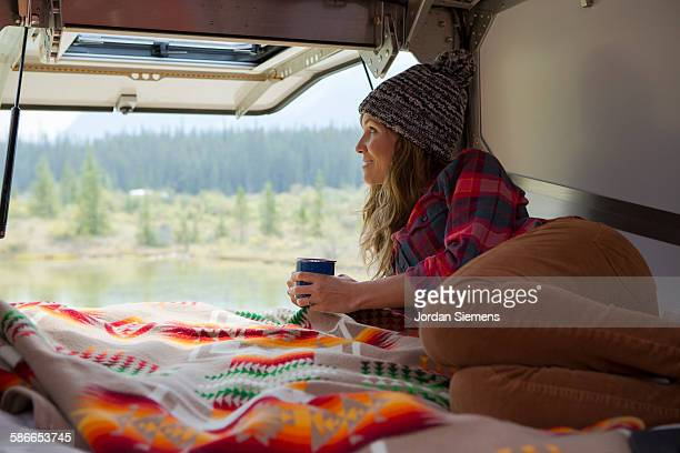 Road trip through Jasper National Park.