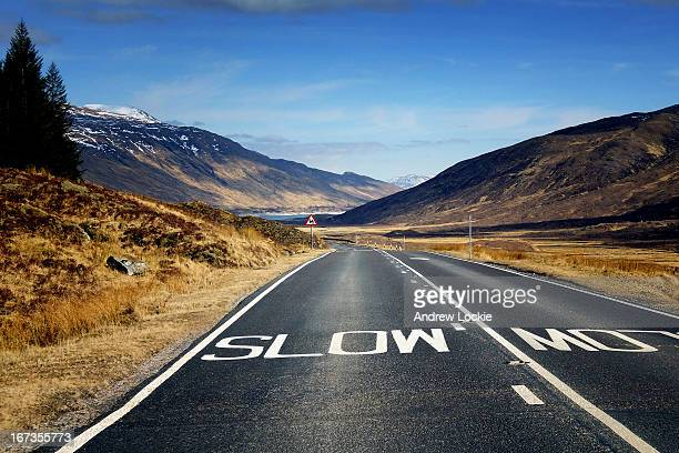 road trip through the highlands of scotland - inverness stock photos and pictures