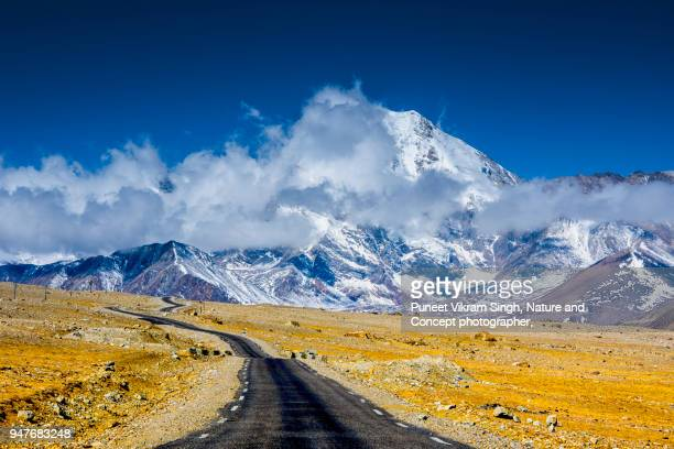 road trip to mountains - northeast india stock photos and pictures