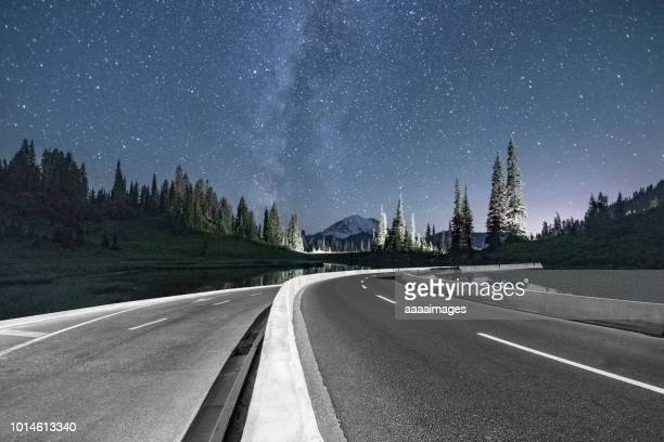 road trip under the milkyway