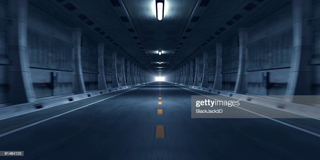 Road Tunnel : Stock Photo