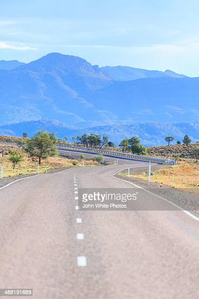 Road. Wilpena Pound. Flinders Ranges. Australia