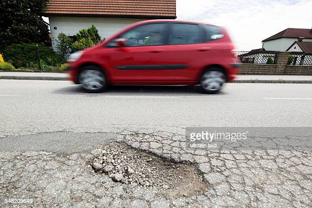 Road with road holes