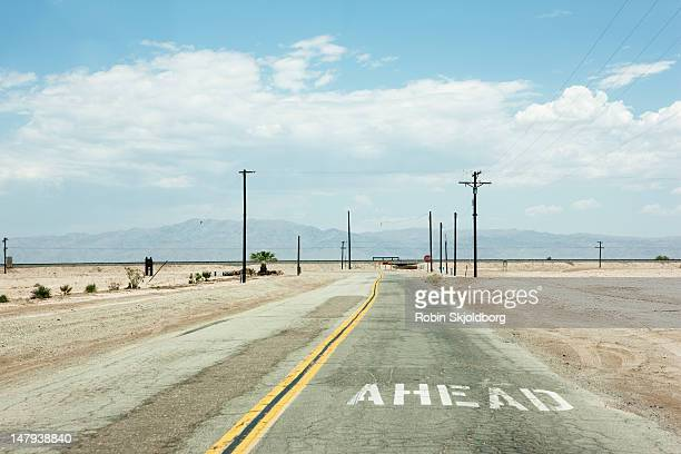 road with yellow center stripe. - california stock pictures, royalty-free photos & images