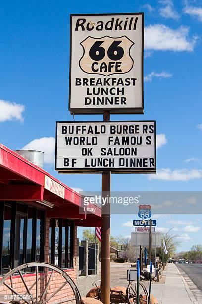 Roadkill Cafe Sign