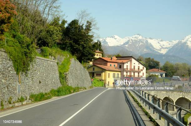 roads of italy - leonardo costa farias stock photos and pictures