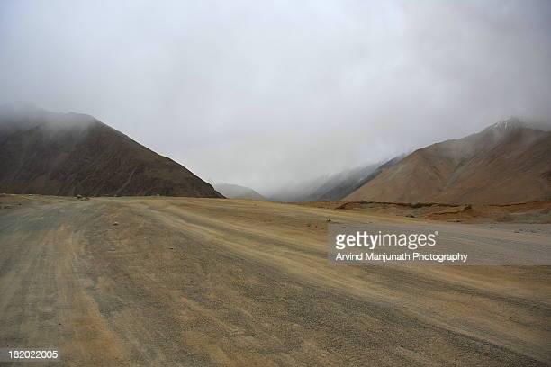 Roads on Ladakh region