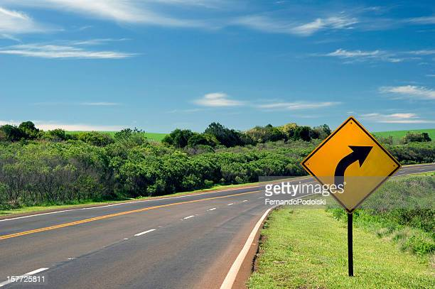 roadside and sign - road sign stock pictures, royalty-free photos & images