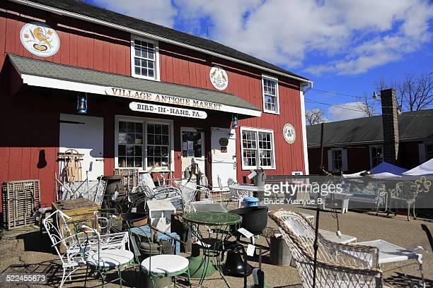 Roadside antique shop