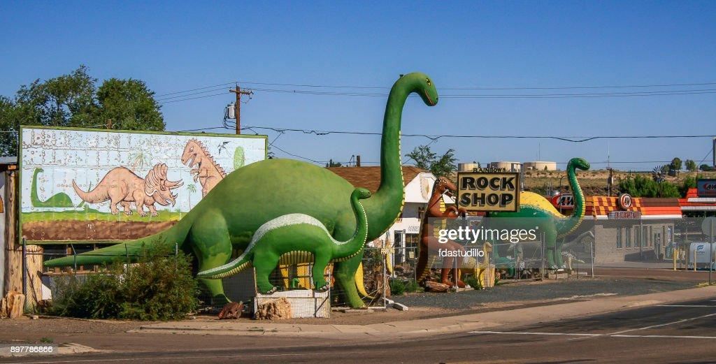 Roadside Attractions - Flagstaff, Arizona : Stock Photo