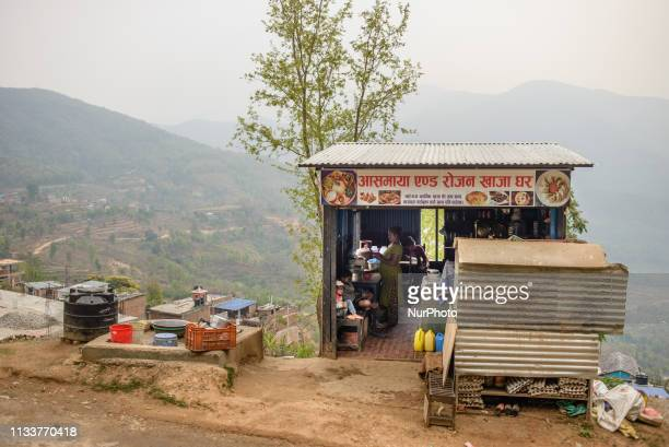 Roadside diner in Bandipur Nepal on March 30 2019
