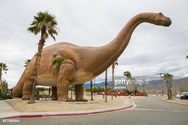 Roadside Dinosaur attraction in Cabazon California