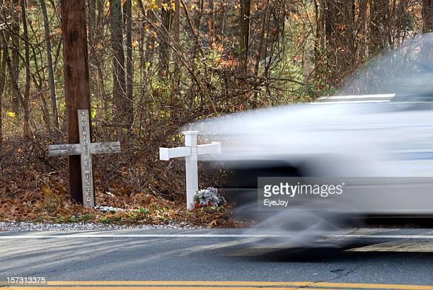 Roadside Memorial for Traffic Fatalities