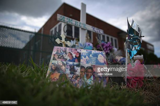 A roadside memorial stands for three children killed in an auto accident in a highcrime neighborhood on August 28 in Pleasantville Atlantic County...